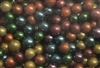 ASSORTED COLOR METALLIC DRAGEES - 2.5MM - DARK