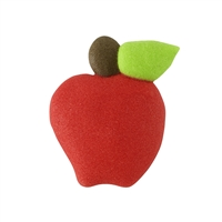 Royal Icing Apple - Red
