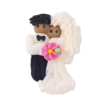 African American Bride & Groom - Mini