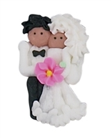 African American Bride & Groom - Large