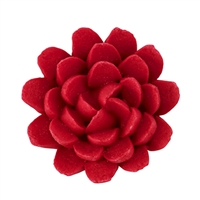 Chrysanthemum - Med-Lg - Red