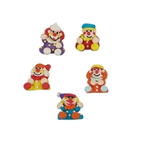 Standing 3-D Clown Assortment