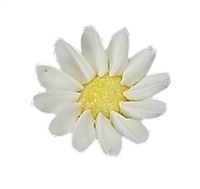 Medium Sparkle Daisy - White