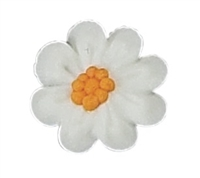 Flat Daisy White - Small