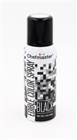 Chefmaster Edible Luster Spray - Black