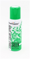 Chefmaster Edible Luster Spray - Green