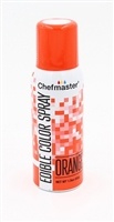 Chefmaster Edible Luster Spray - Orange