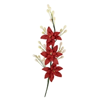 Tuberose Spray - Red