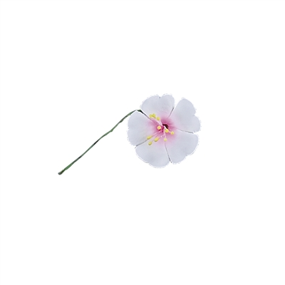 Individual Cherry Blossom On A Wire - Pale Pink