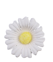 Large Sparkle Daisy - White