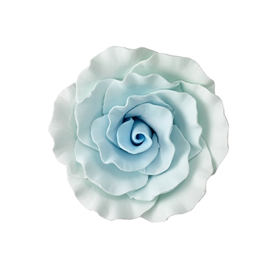 XXL Gum Paste Formal Rose - Blue