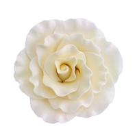 XXL Gum Paste Formal Rose - Ivory