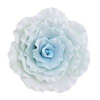 Jumbo Gum Paste Formal Rose - Blue