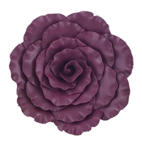 Jumbo Gum Paste Formal Rose - Burgundy