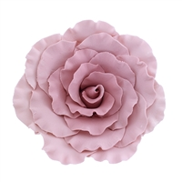 Jumbo Gum Paste Formal Rose - Mauve