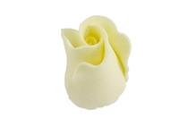 Gum Paste Formal Rosebud - Yellow