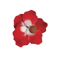 Gum Paste Poppy Anemone - Red