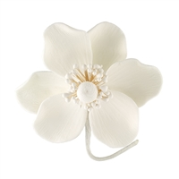 Gum Paste Poppy Anemone - All White