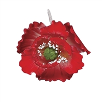 Gum Paste Summer Poppy - Red