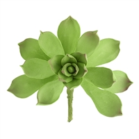 Gum Paste Succulent - Dark Green