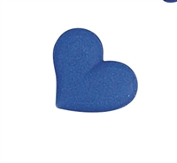 Medium Royal Icing Heart - Blue