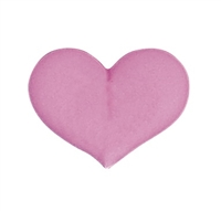 Large Royal Icing Heart - Pink