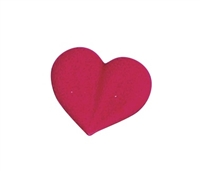 Large Royal Icing Heart - Red