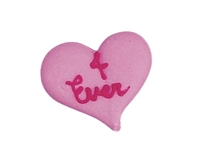 Large Royal Icing Conversation Heart -  4 Ever