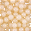 10mm Edible Pearlized Dragees - Ivory Gloss
