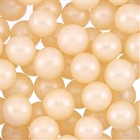 12mm Edible Pearlized Dragees - Ivory Gloss