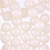 12mm Edible Pearlized Dragees - White Gloss