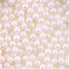 5mm Edible Pearlized Dragees - White Gloss