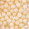 8mm Edible Pearlized Dragees - Ivory Gloss