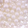 8mm Edible Pearlized Dragees - White Gloss