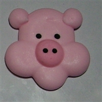 Large Royal Icing Pig Face