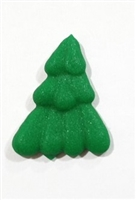 Royal Icing Mini Pine Tree - Dark Green