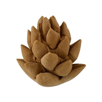 Royal Icing 3-D Pine Cone