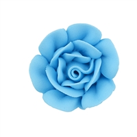 Large Royal Icing Rose - Blue