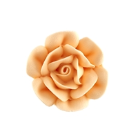 Large Royal Icing Rose - Peach