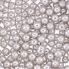 Non-Edible Metallic Silver Coated Dragees - 6mm
