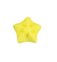 Mini Royal Icing Yellow Star