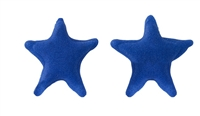 Small Royal Icing Star - Blue