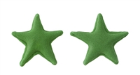 Small Royal Icing Star - Green