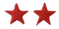 Small Royal Icing Star - Red