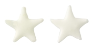 Small Royal Icing Star - White