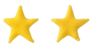 Small Royal Icing Star - Yellow