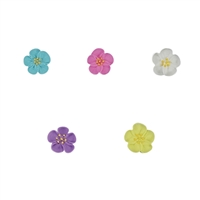 Small Royal Icing Wild Rose - Assorted Colors