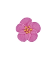 Small Royal Icing Wild Rose - Pink