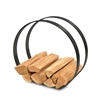 Pilgrim Modern Wood Holder Black