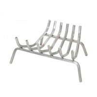 Pilgrim Stainless Steel Fireplace Grate